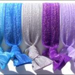 Hair Ties - Lavender Breeze..