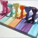 Hair Ties - Set Of 8 - Can..