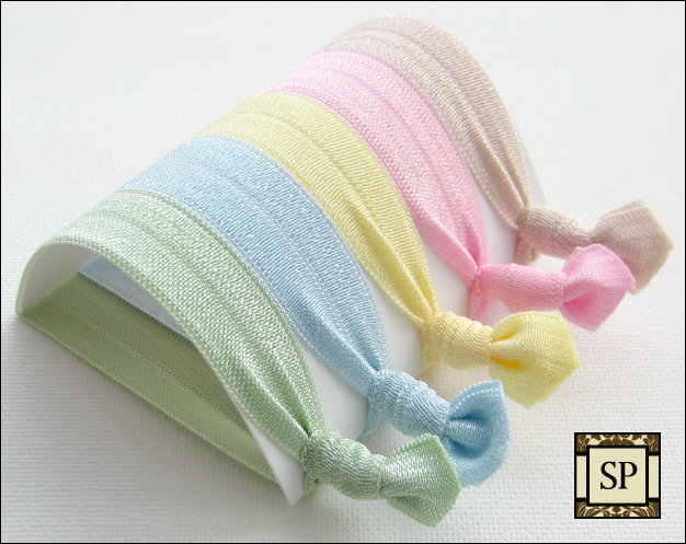 Hair Ties - Set of 5 - The Spa Collection - Sweet Petites